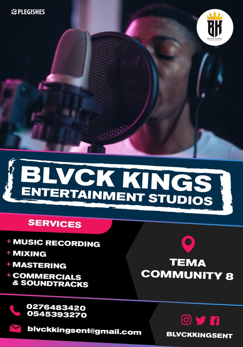 Blvck Kings Entertainment Studios Tema