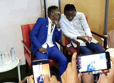 FULL VIDEO: Shatta Wale and Stonebwoy Reunite Live on GHOne TV