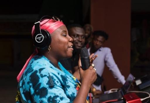 PHOTOS: Nigerian Afropop Star Teni records with Ghanaian Producer Streetbeatz