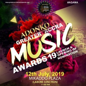 Greater Accra Music Awards Set To Open Nomination