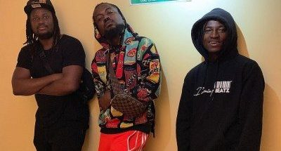 Samini gifts HGF's In-House Producer, Brainy Beatz new car
