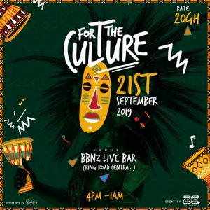 """Do It For The Culture"" , A Ghana-Music Themed Event Hosted By DCLeakers"