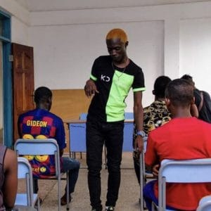 Kiyo Dee Lectures at Hope Training Institute Pokuase