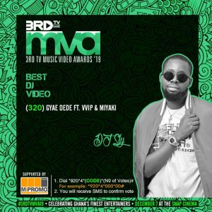 DJ Sly grabs Best DJ Video nomination ahead of 2019 3rd TV Music Video Awards