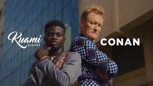 VIDEO: Kuami Eugene - For Love (feat. Conan O'Brien)