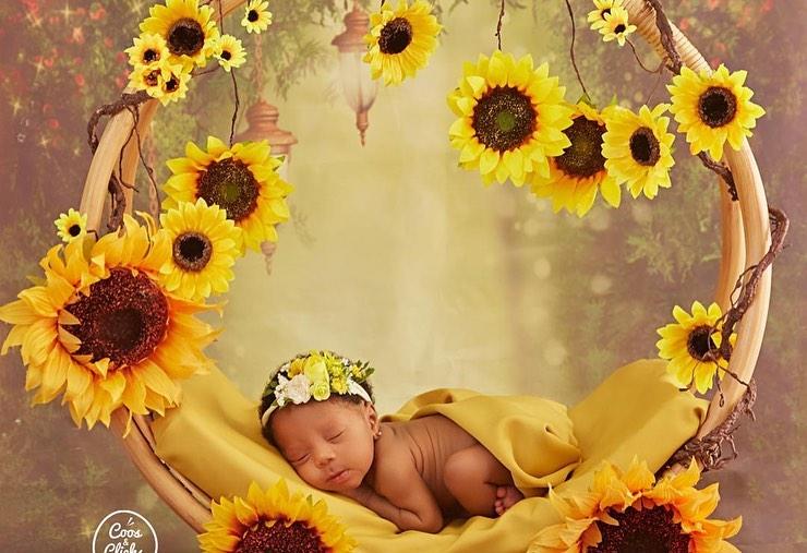 PHOTOS: KillBeatz shows off his adorable baby daughter.