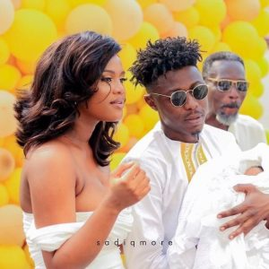 PHOTOS KillBeatz shows off his adorable baby daughter