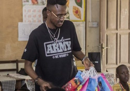 Opanka Shows Love To School Kids On Vals Day