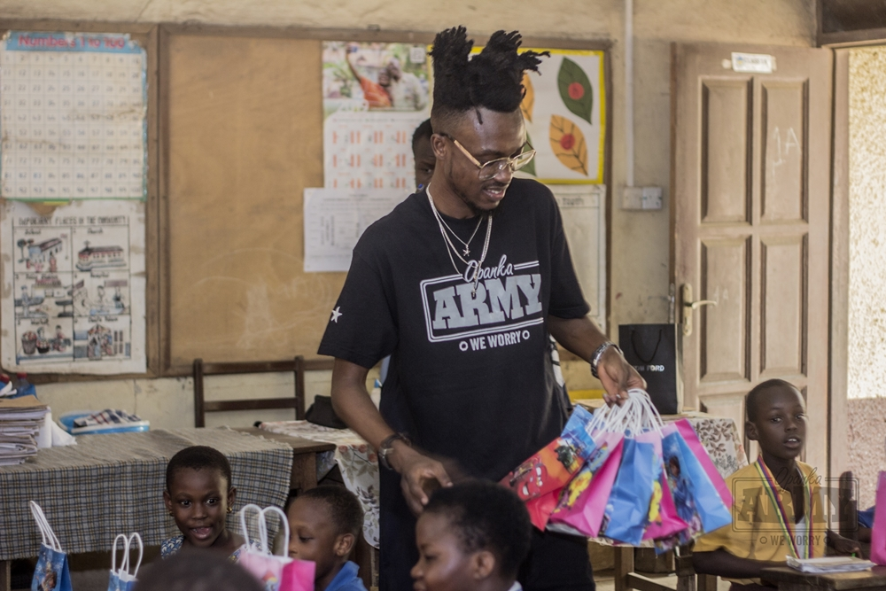 Opanka Shows Love To School Kids On Vals Day 2