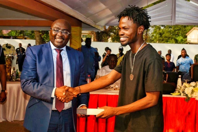 Fameye Honoured by The Ghana Police Service and H.E. Bawumia