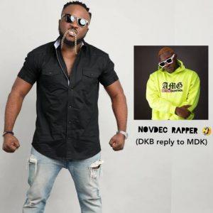 DKB – NovDec Rapper (Medikal Diss)