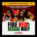 DJ Manni - Fire Red Reggae Mix Vol.2