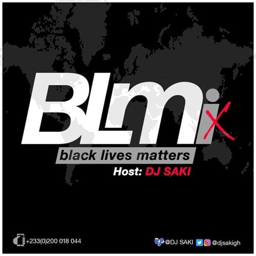 DJ Saki – B. L. M. (Black Lives Matters) Mix