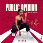 Freda Rhymz – Public Opinion (Prod. By Snowwie) cover art