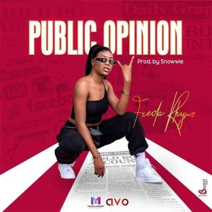 Freda Rhymz – Public Opinion (Prod. By Snowwie) cover art