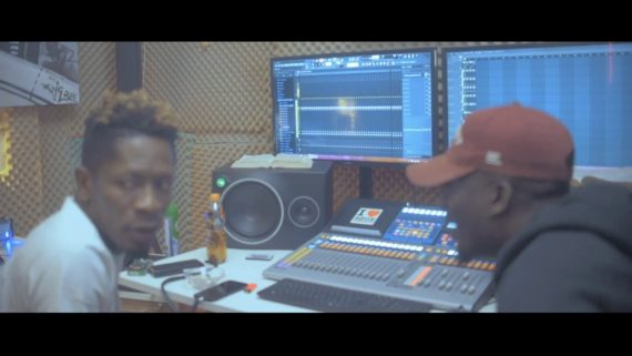 VIDEO: Shatta Wale and Paq Make a Hit Song In Less Than 10 Minutes (By All Means)