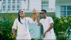 VIDEO: JaneRita - God of Miracle (feat. Kofi Kinaata)