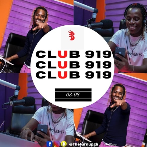 Sheldon The Turn Up – Live Xtra Club 919 (08-08)