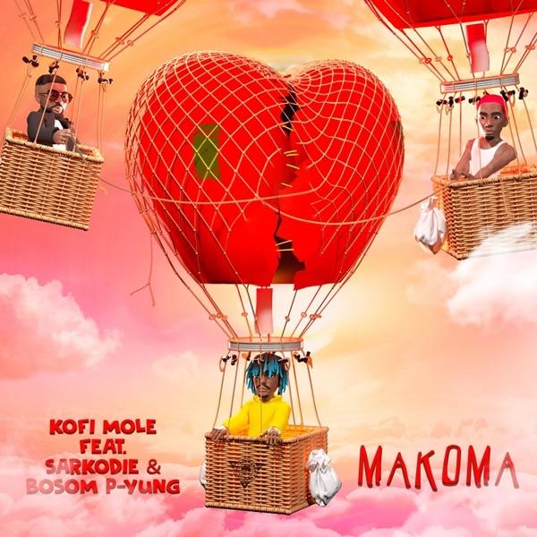 Kofi Mole – Makoma (feat. Bosom P-Yung & Sarkodie) (Prod. by Merki)