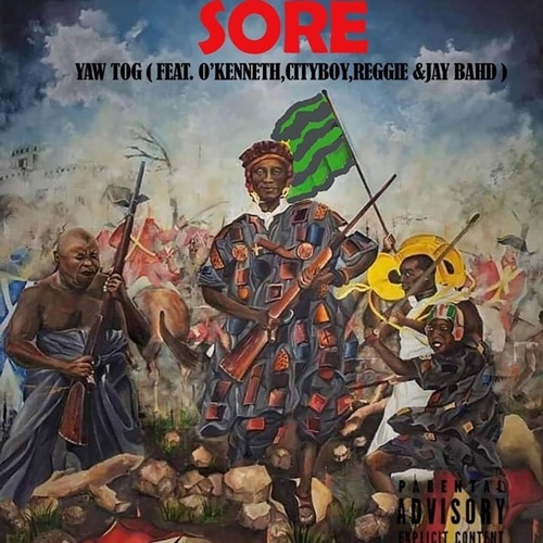INSTRUMENTAL: Yaw Tog – Sore (feat. O'Kenneth, City Boy, Reggie & Jay Bahd)