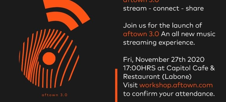 Aftownmusic set to launch Aftown 3.0