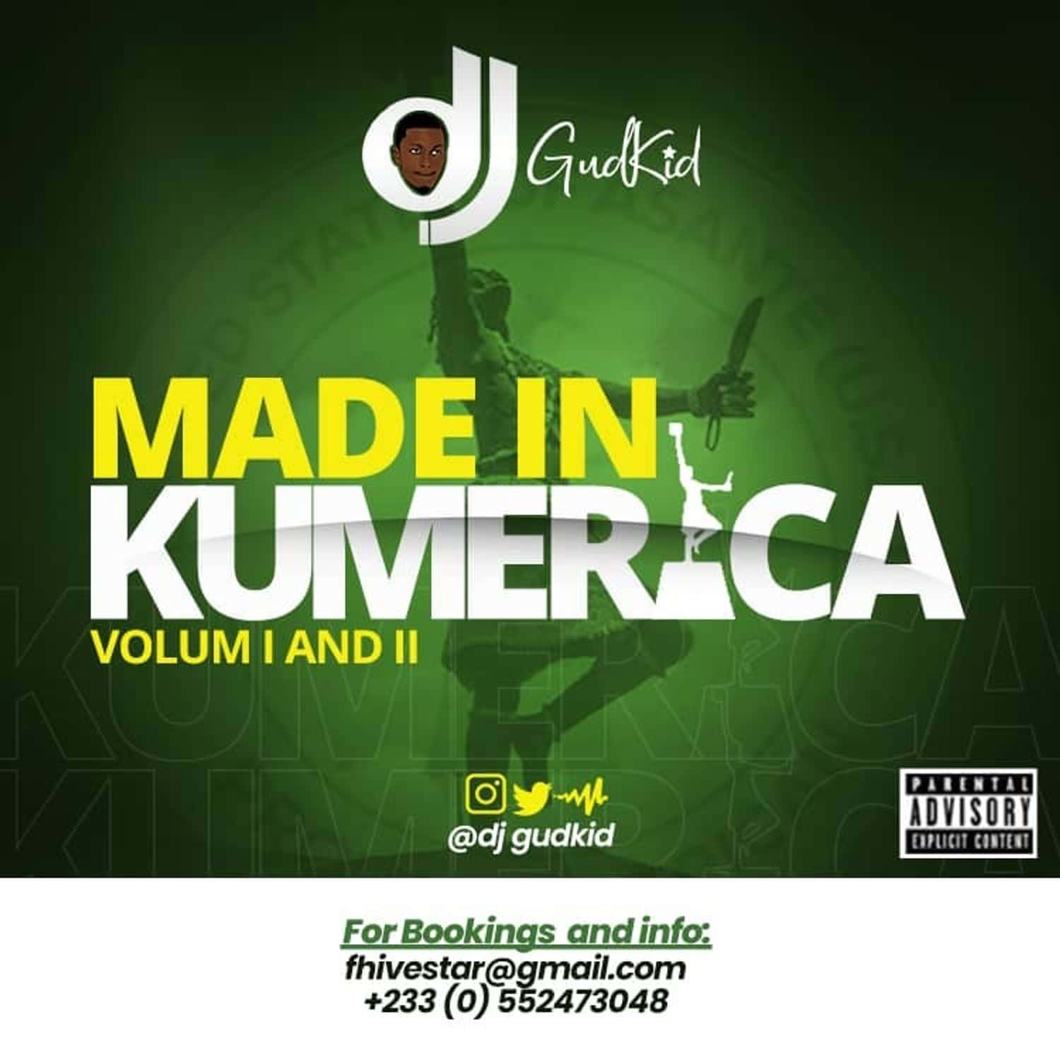 DJ GudKid – Made In Kumerica Vol I