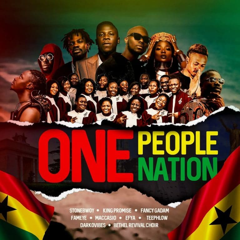 One People – One Nation (feat. Stonebwoy, King Promise, Fancy Gadam, Fameye, Maccasio, Efya, Teephlow, DarkoVibes, Bethel Revival Choir)