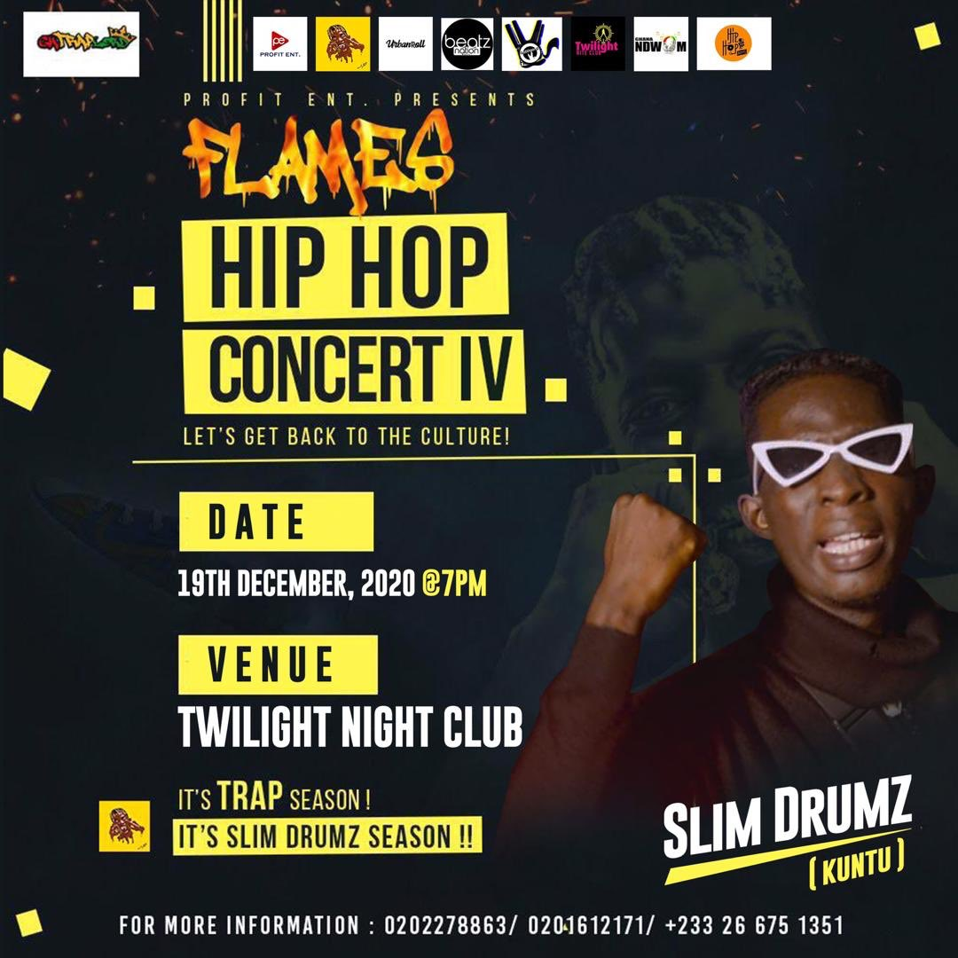 Slim Drumz Flames Hip Hop Concert IV