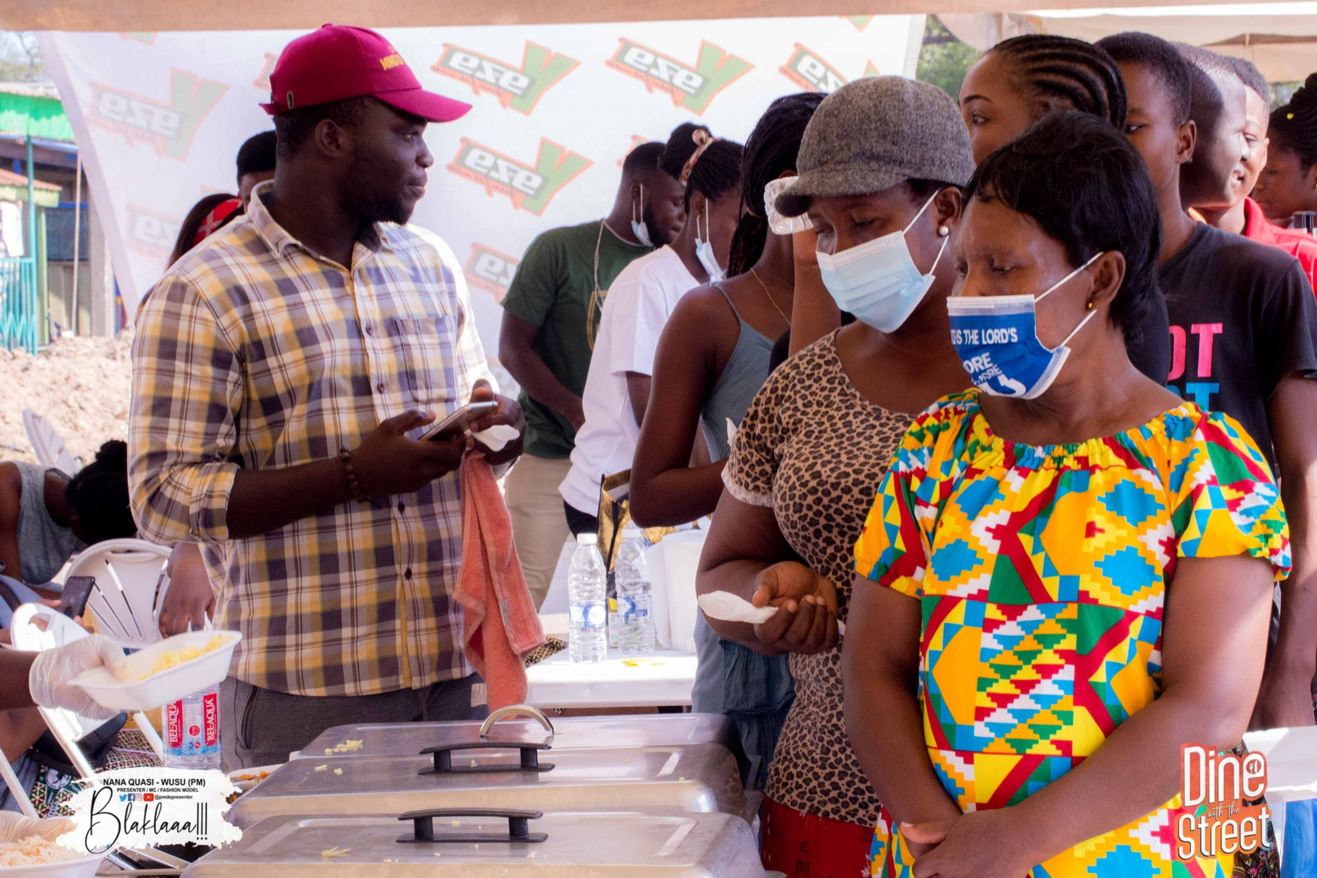 PM Foundation Feeds Over 1000 People On The Street Of New Site -Takoradi 2