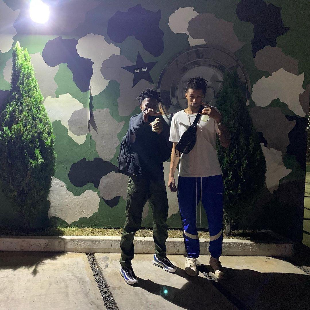 Canadian artist/producer JMG Kofi visits Ghana for the first time