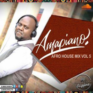 DJ BIGJOE - Afro House Mix Vol 5 (2020 Amapiano Mix)