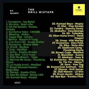 DJ Mampi - The Drill Mixtape (2021 Mixtape)