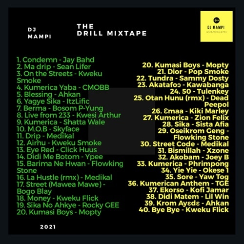 DJ Mampi – The Drill Mixtape (2021 Mixtape)