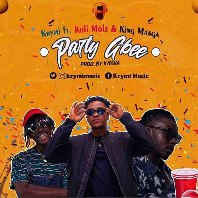 Krymi – Party Gbee (feat. Kofi Mole & King Maaga)