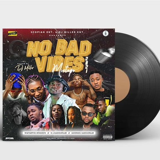 DJ Miller - No Bad Vibes 2021 Mixtape