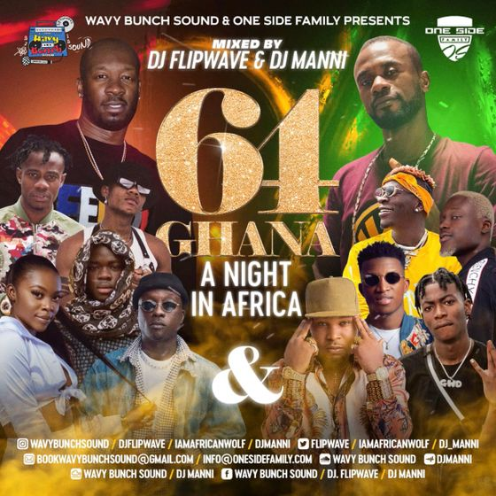 DJ Flipwave & DJ Manni – Ghana @ 64: A Night in Africa
