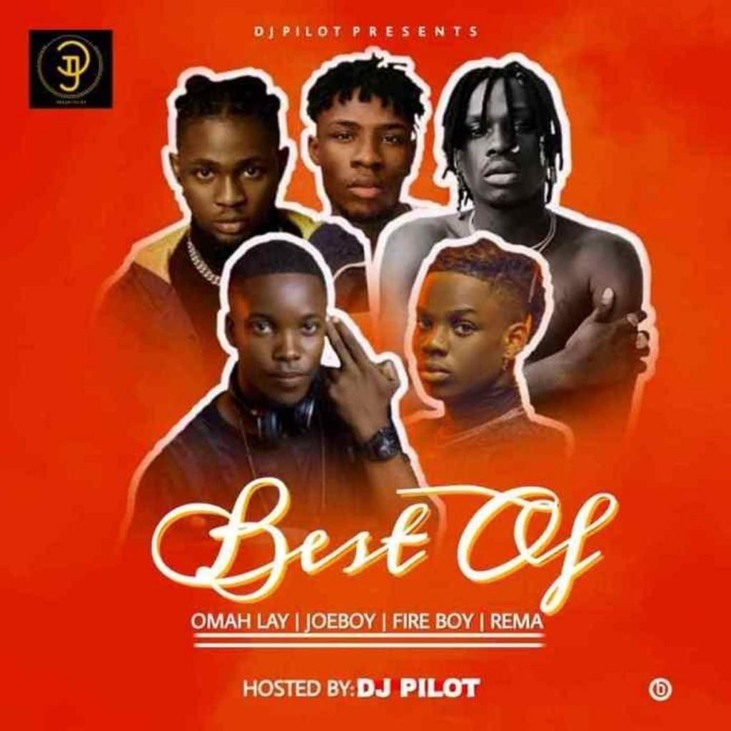 DJ Pilot - Best of Omah lay X Fireboy X Joeboy X Rema Mix