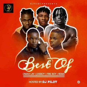 DJ Pilot - Best of Omah lay X Fireboy X Joeboy X Rema Mix