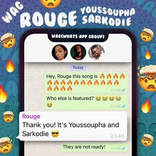 Rouge - W.A.G (feat. Sarkodie, Youssoupha)