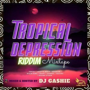 DJ Gashie - Tropical Depression Riddim Mixtape (2021 Mixtape)