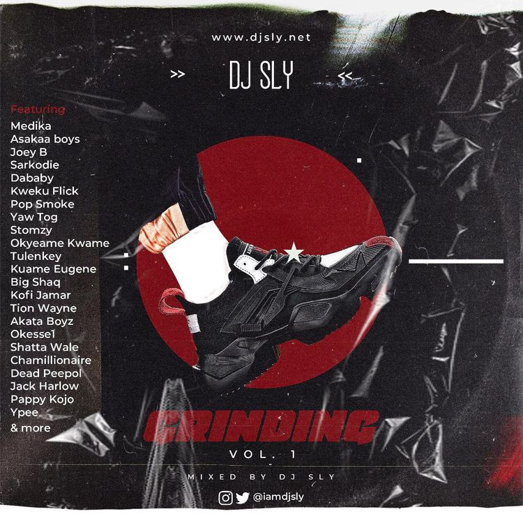 DJ Sly – Grinding Mix Vol.1 (2021 Mixtape)