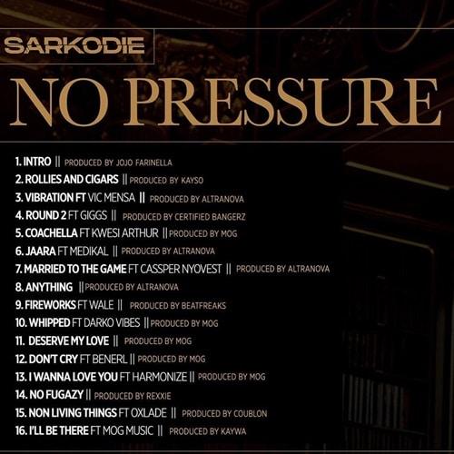 DJ Humble Bwoy – No Pressure Album Mixtape (Sarkodie)