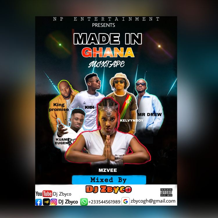 DJ Zbyco – Made In Ghana Mixtape (2021 Mixtape)