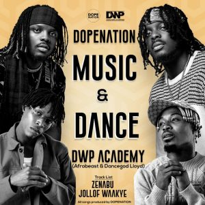 DopeNation teams up with Dancegod Lloyd, Afrobeast, and the DWP Academy for 'Music And Dance'