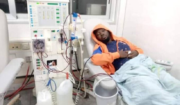 Ghanaian Producer Eyoh Soundboy is in a critical condition, he's on dialysis – Wife
