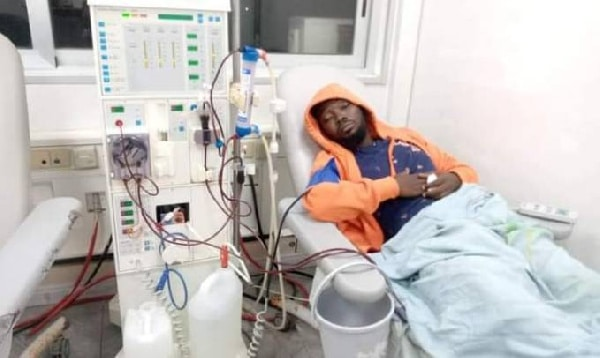 Ghanaian Producer Eyoh Soundboy is in a critical condition, he's on dialysis - Wife