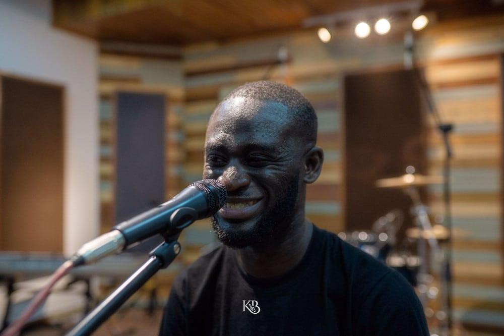Kwabena Boateng in studio