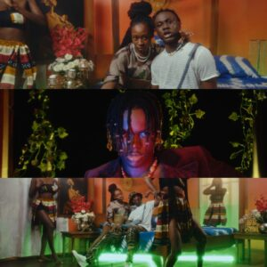 """Young Ghanaian Dancehall Heavyweight, Larruso has released the official music video for his Afro-Fusion party cracker single, """"SPIRITUAL"""" featuring label mate, KOJO BLAK. The Abeiku Simonson directed video portrays the semblance dimension of two young men enjoying their night life coupled with beautifully choreographed dances at a haunted home. The young artiste earlier this year hinted the release of his debut 8-tracked EP, which is ready and scheduled. Kindly watch Larruso and KOJO BLAK performing """"SPIRITUAL"""" directed by Abeiku Simonson for Jadon Shatta Entertainment below; strongWATCH THE VIDEO BELOWstrong div class=video-container style=text-align center;iframe title=YouTube video player src=httpswww.youtube.comembed42aZvByTDCI width=560 height=315 frameborder=0 allowfullscreen=allowfullscreeniframediv span style=color #ffffff;.span"""